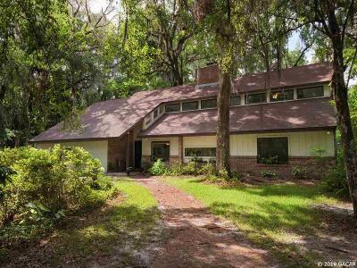 Gainesville Single Family Home For Sale: 1813 NW 102ND Way