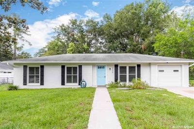Gainesville FL Single Family Home For Sale: $175,000