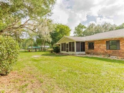 Reddick Single Family Home For Sale: 18270 N 329
