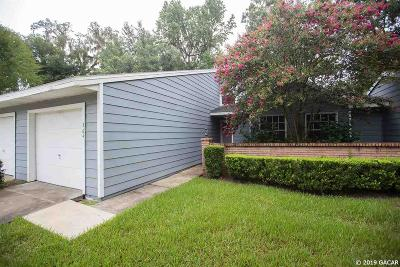 Gainesville Condo/Townhouse For Sale: 364 NW 48th Boulevard