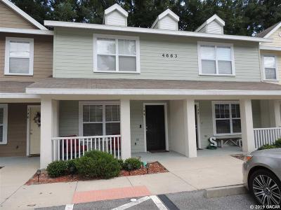 Gainesville Condo/Townhouse For Sale: 4663 SW 48th Drive #139