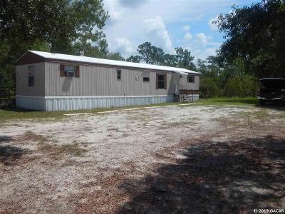 Bronson Single Family Home For Sale: 6871 NE 99 Court