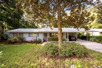 Gainesville Single Family Home For Sale: 3425 NW 10th Avenue