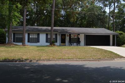 Gainesville Single Family Home For Sale: 2505 NW 55TH Boulevard