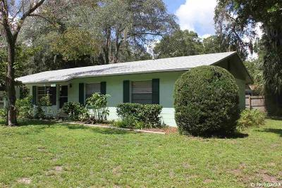 Gainesville Single Family Home For Sale: 3134 NW 8th Street