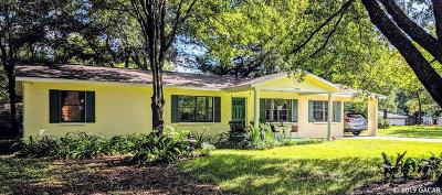 Newberry Single Family Home For Sale: 24708 SW 1ST Road