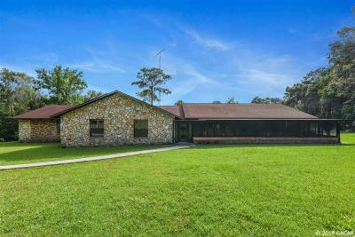Micanopy Single Family Home For Sale: 14708 SE 11TH Drive