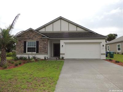 Newberry Single Family Home For Sale: 897 NW 250th Drive