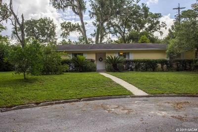 Gainesville Single Family Home For Sale: 2131 NW 51st Terrace