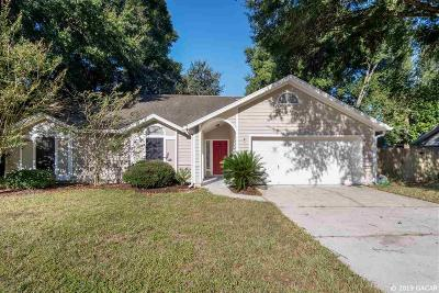 Gainesville Single Family Home For Sale: 1112 SW 80TH Terrace