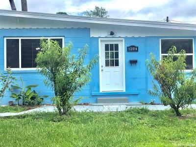 Gainesville Single Family Home For Sale: 1204 NE 6TH Avenue