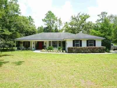 Gainesville Single Family Home For Sale: 8404 SW 98TH Avenue