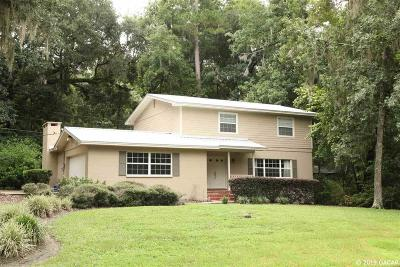 Gainesville Single Family Home For Sale: 1925 NW 27TH Terrace