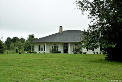 Williston FL Single Family Home For Sale: $349,000