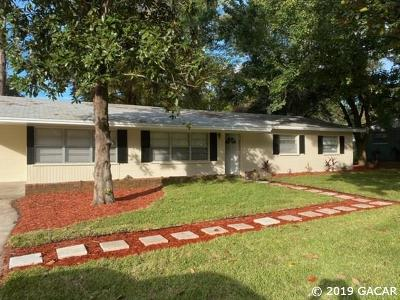 Gainesville Single Family Home For Sale: 3330 NW 29th Avenue