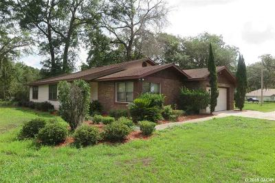 Gainesville Single Family Home For Sale: 6518 NE 26th Place