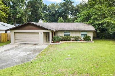 Gainesville Single Family Home For Sale: 1209 SW 76th Drive