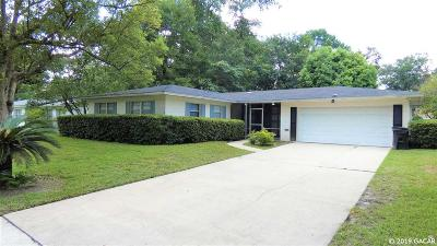 Gainesville Single Family Home For Sale: 3228 NW 46th Place