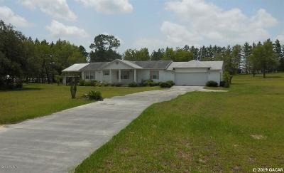 Williston FL Single Family Home For Sale: $169,500