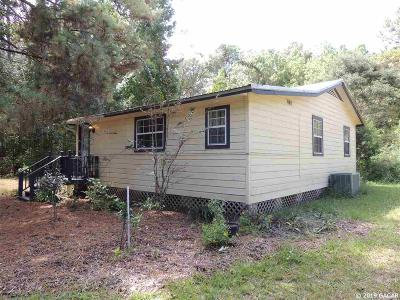 Micanopy Single Family Home For Sale: 310 SW 1st Street