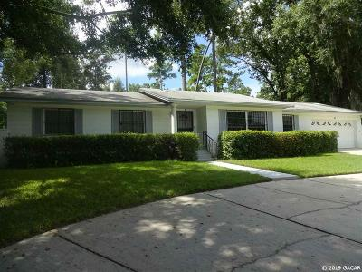 Gainesville Single Family Home For Sale: 5719 NW 23rd Avenue