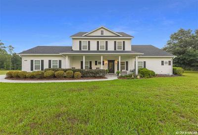 Alachua Single Family Home For Sale: 8469 NW 184TH Drive