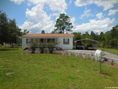 Archer Single Family Home For Sale: 11090 NE 106TH Court