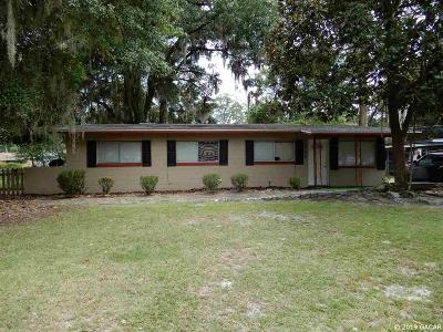 Gainesville Single Family Home For Sale: 1765 NE 21st Way