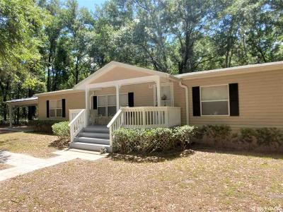 Bronson Single Family Home For Sale: 14781 NE 75th Street