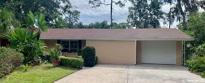 Gainesville Single Family Home For Sale: 3937 NW 21ST Terrace