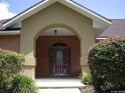 Alachua Single Family Home For Sale: 14319 NW 154 Terrace