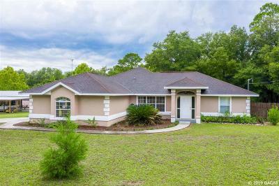 Archer Single Family Home For Sale: 11290 NE 100TH Terrace