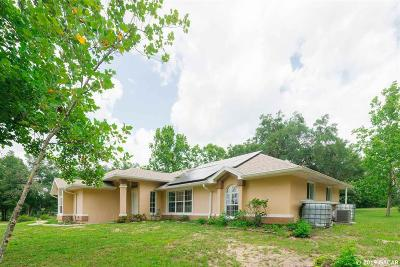 Williston FL Single Family Home For Sale: $549,900