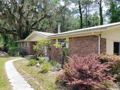 Gainesville Single Family Home For Sale: 1923 NW 156 Avenue