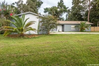 Gainesville Single Family Home For Sale: 4321 NW 13th Avenue