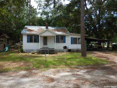 Williston FL Single Family Home Pending: $34,500
