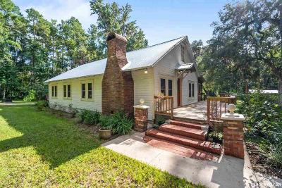 Micanopy Single Family Home For Sale: 21745 NW 87th Avenue Road