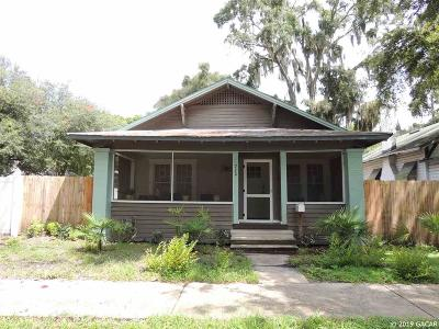Gainesville Single Family Home For Sale: 720 NW 2nd Avenue