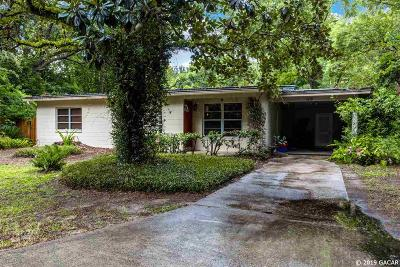 Gainesville Single Family Home For Sale: 1219 NW 25th Terrace