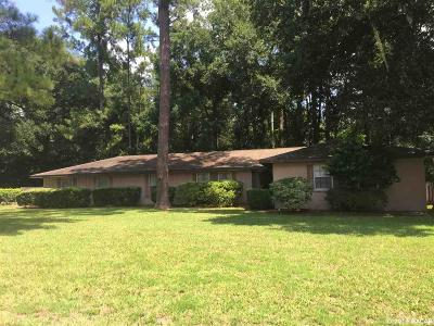Gainesville Single Family Home For Sale: 2711 NW 31st Terrace
