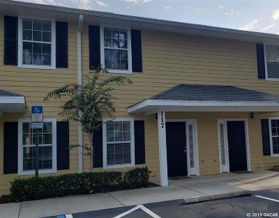 Gainesville Condo/Townhouse For Sale: 2927 SW 35TH Place #117