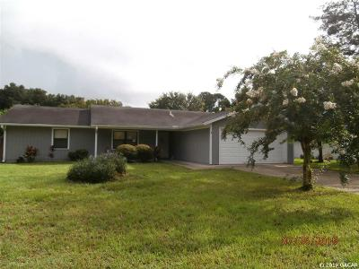 Gainesville Single Family Home For Sale: 4814 NW 27TH Place