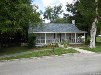 Williston FL Single Family Home For Sale: $135,000
