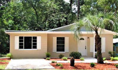 Gainesville Single Family Home For Sale: 1519 NE 4TH Avenue