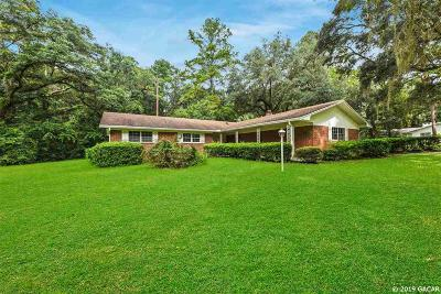 Gainesville Single Family Home For Sale: 1116 NW 112 Terrace