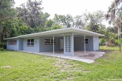 Gainesville Single Family Home For Sale: 7221 E UNIVERSITY Avenue