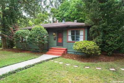 Gainesville Single Family Home For Sale: 1014 NE 9th Street