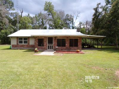 Gainesville FL Single Family Home For Sale: $110,000
