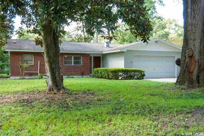 Gainesville Single Family Home For Sale: 3403 NW 7th Place