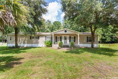 Hawthorne Single Family Home For Sale: 1439 & 1441 SE US Highway 301